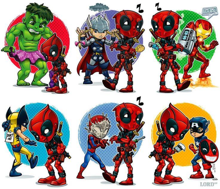 deadpool-captain-america-wolverine-thor-hulk-humor-marvel-marvel-comics-the-avengers.jpg (1194×1030)