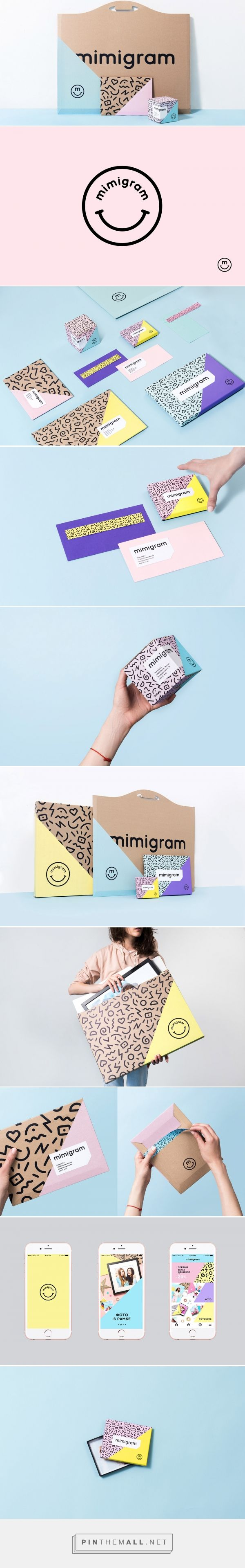 Mimigram Corporate Identity - Mindsparkle Mag... - a grouped images picture - Pin Them All