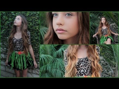 "Katy Perry ""ROAR"" Inspired Halloween Tutorial! (Hair, Makeup, and Costume) - YouTube"