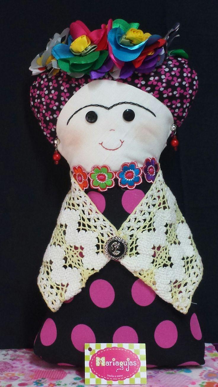 Muñeca Frida...Mariagujas : cel y wp 3204552539  Mail: ramirezml98@hotmail.com