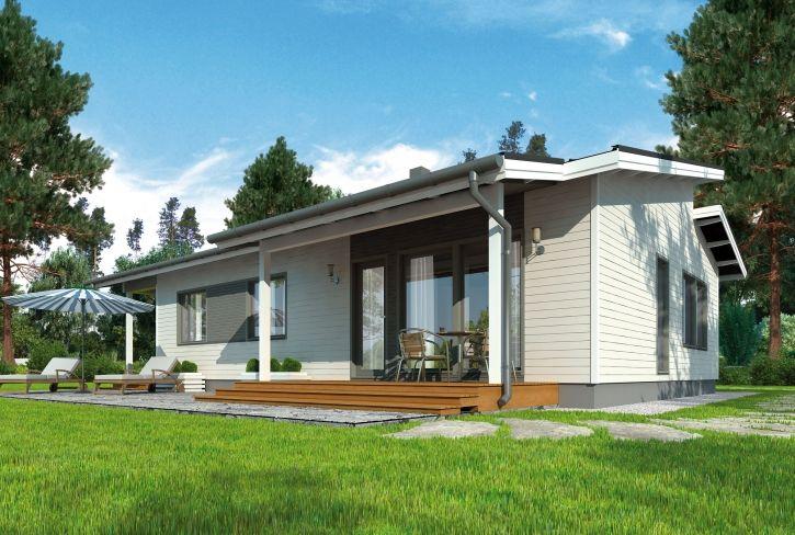 Persoonaa peliin – Ville: 121 m², 3 makuuhuonetta, 1-kerroksinen omakotitalo