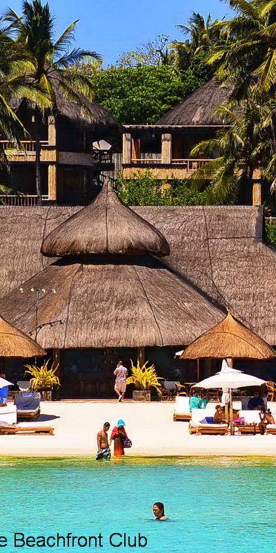 Very tropical! Fridays Boracay, on White Beach, #Boracay Island.