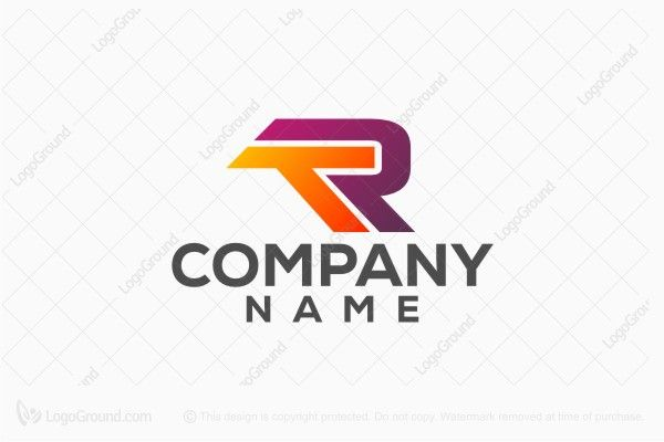 Logo for sale: Letter T And R Logo