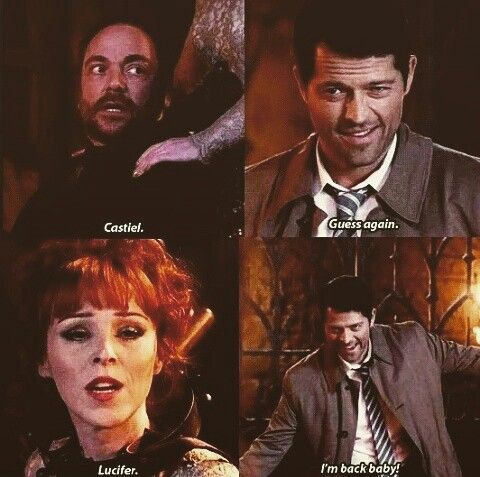 Man! Misha is an amazing satan....I can't believe I said that..