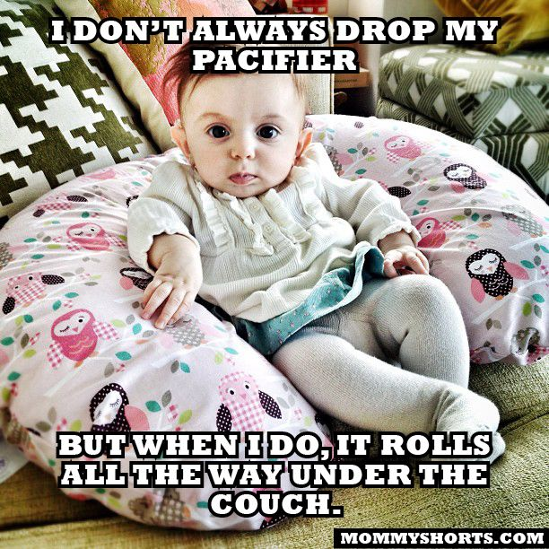 The Most Interesting Baby in the World #mommyshorts