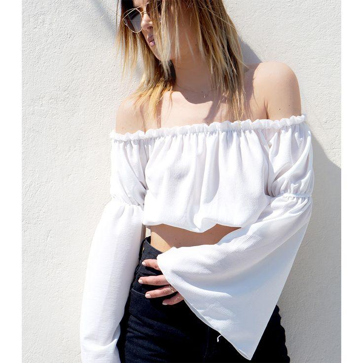 boho crop top!! fashion ! mustroom.gr