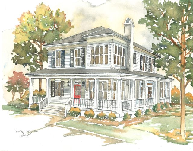 Corner The Market: Southern Living House Plan