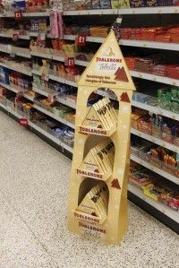 Point of Purchase Design | POP | POS | POSM | Retail Display | Toblerone