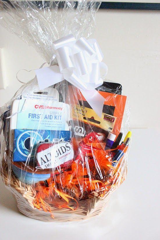 New Job Survival Kit Gift Basket DIY Project How to Guide