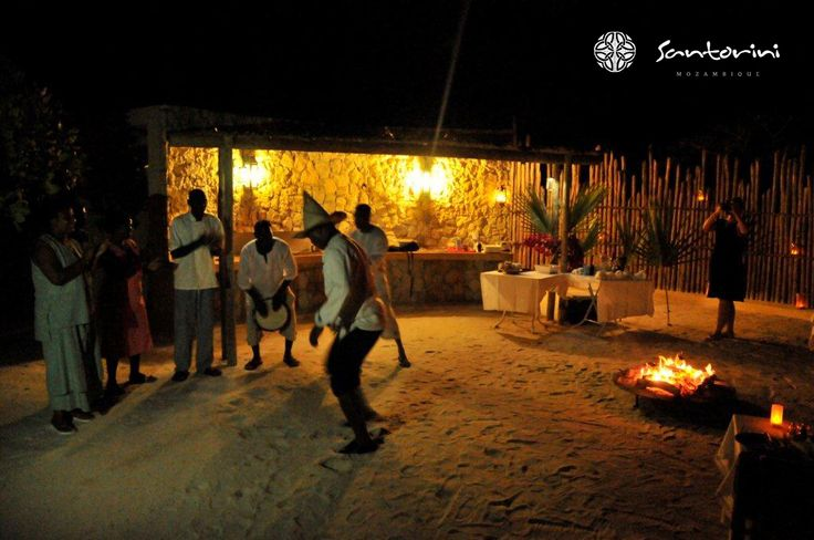 The sun sets, the fires are lit and the party begins at Villa Santorini. Here at in Mozambique, we really know how to do it right. Come and join in our festive activity and who knows, maybe we'll be watching the sun rise too. #VillaSantorini #SantoriniMozambique #Mozambique #party