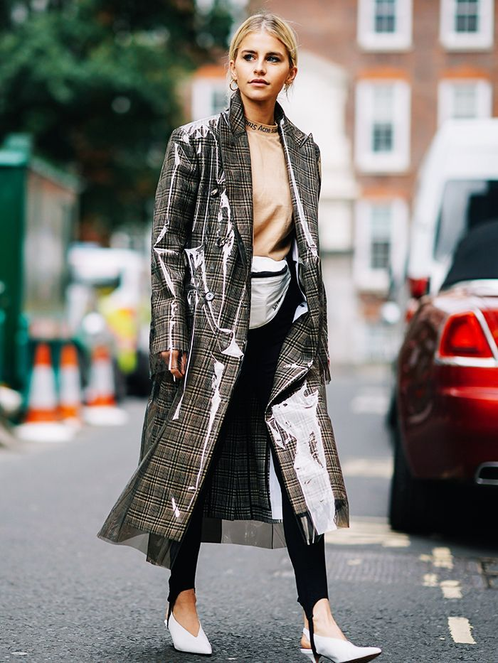 33 Street Style Looks From London Fashion Week to Inspire Your Wardrobe via @WhoWhatWearUK