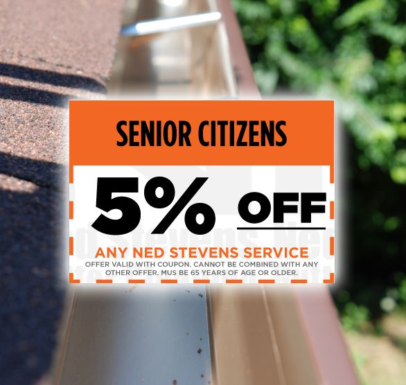 Senior Citizens: Get 5% off any Ned Stevens service!   Give us a call to schedule your fall cleaning: (800) 542-0267 #NedStevensCoupons