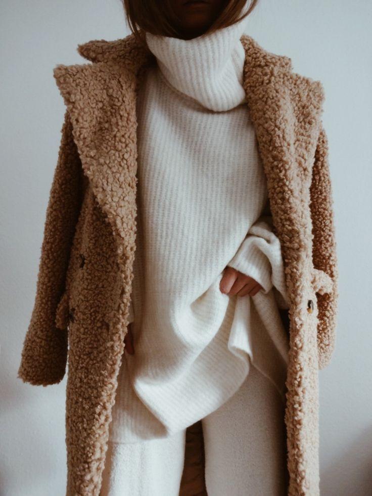 Cozy Up in Teddy Bear Coats