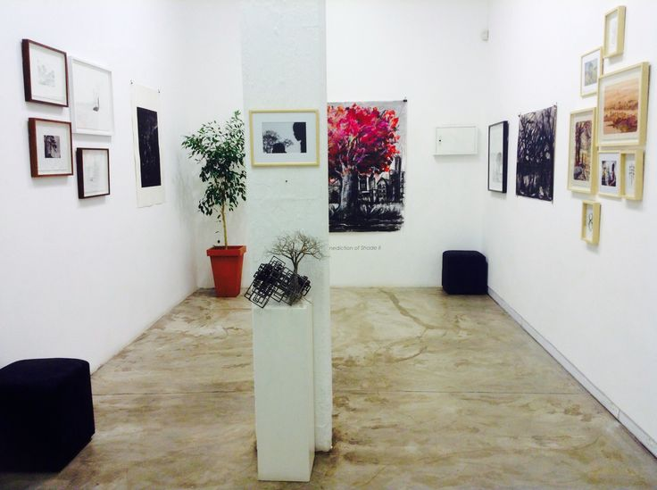 Benediction of Shade II: Joburg, City of Trees installation at our Arts on Main workshop gallery.