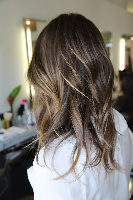 subtle brunette highlights.Beautiful yet subtle brunette highlights — if your search for natural looking brunette highlights got you here, then take these pictures to your hairdresser now! Colorist Kazumi Morton nails it, adding natural looking highlights that you can notice, but that don't overpower the look.