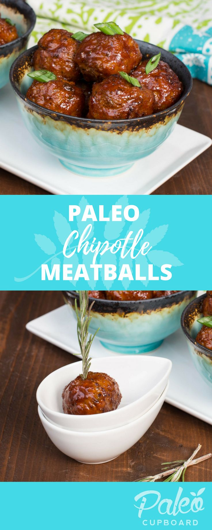Paleo Chipotle Meatball Recipe - Best meatball recipe! Tons of flavor and makes great leftovers!