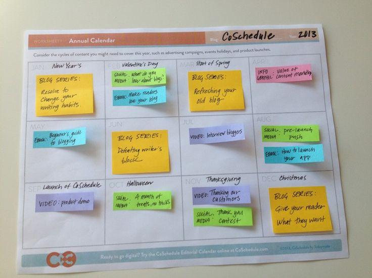 17 beste ideer om Social Media Calendar Template på Pinterest - social media calendar template