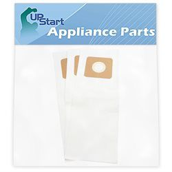 3 Panasonic Type U Vacuum Bags Replacement for Riccar Fuller Brush Bernina Simplicity Vacuum Bags
