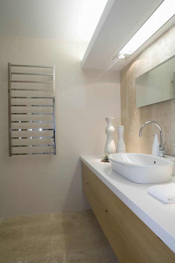 Main bathroom for holiday beach house. Brooke Aitken Design.