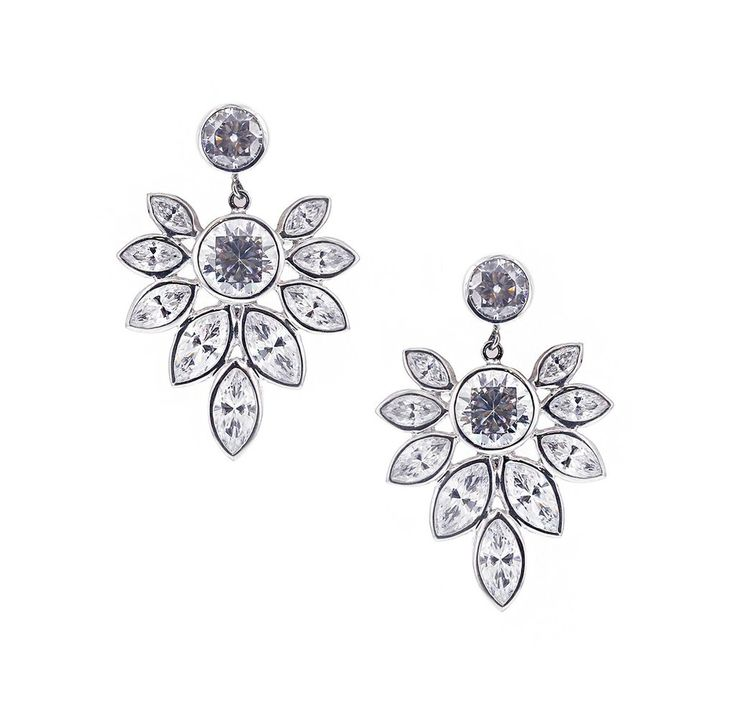 Earrings in bloom - GEMOUR COLLECTION by Gemour.com