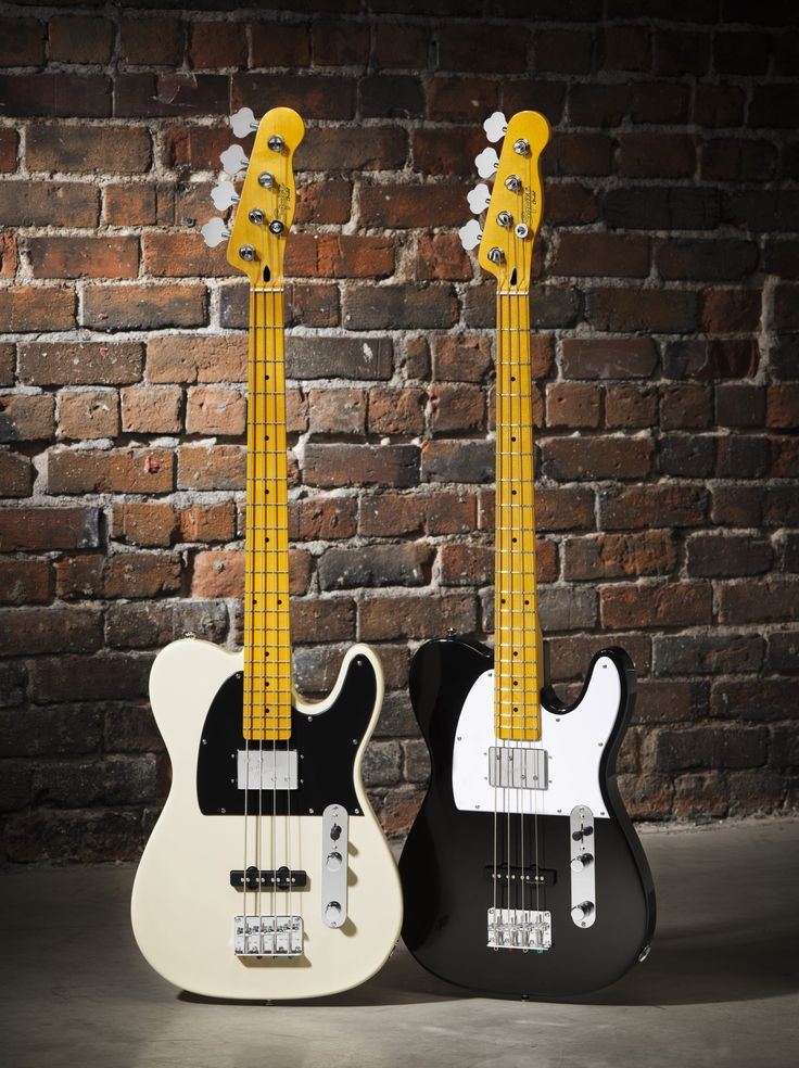 Fender Guitars - NEW Squier Vintage Modified Telecaster Bass Special. Oh myyyy.