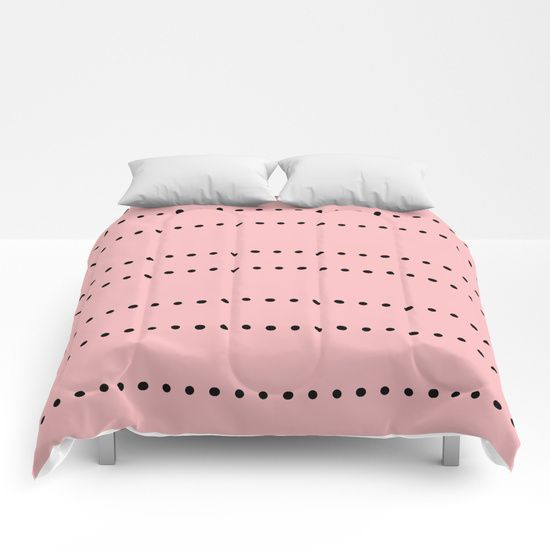 Dots Comforters by Bravely Optimistic | Society6