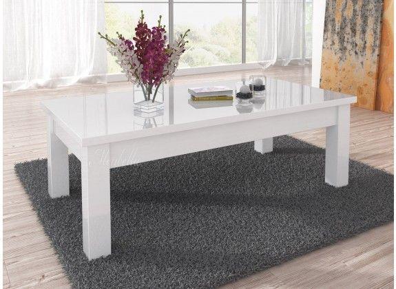 Salontafel Fabrizi is een modern en strak vormgegeven tafel welke geschikt is voor ieder type interieur. De tafel is een rechthoekig model. Het meubel is uitgevoerd in hoogglans wit.
