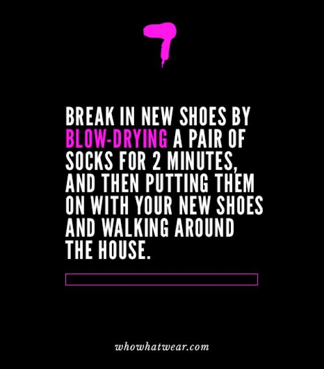 7 Life-Changing Hacks to Make Your Shoes More Comfortable via | Who What Wear