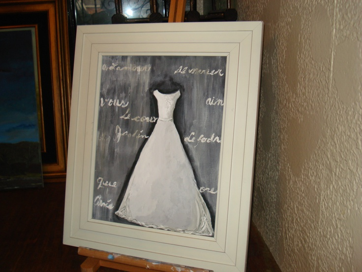 Custom Wedding Painting This One For A Young School Teacher