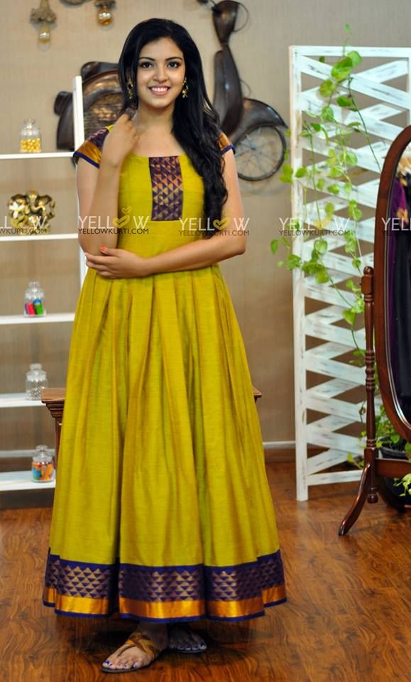 Yellow Kurti Contact Yellowkurti Gmail Com Email Keerthi Yellowkurti Com Long Dress Design Long Gown Dress Gowns Dresses