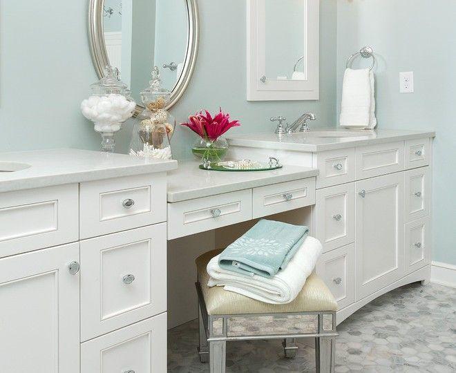 25+ Best Ideas About Bathroom Makeup Vanities On Pinterest