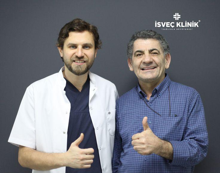 İmplant tedavisi ile sağlıklı gülümseme #implant #zirkonyum #diş #tooth #isveçklinik #smile #istanbul #dental