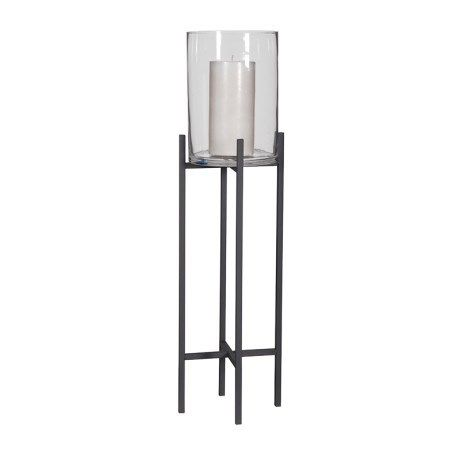 Hurricane Glass On Stand - Trouva