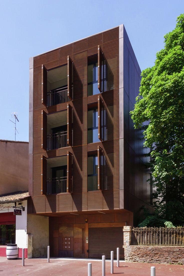 As 25 melhores ideias de fachada de predio no pinterest for Architecture toulouse