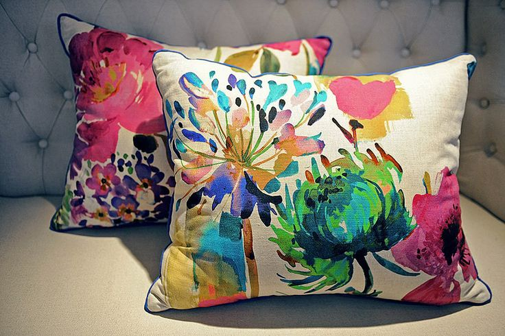More cushion from Art De Vie featuring cloth from our Art & Soul, New England and Explore collections.