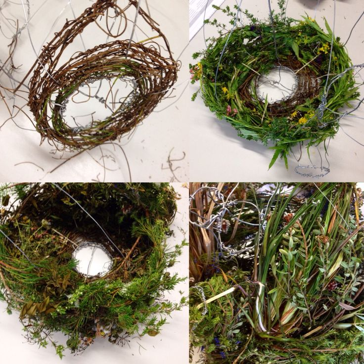 Weaving a sculptural topiary teapot inspired by Alice in Wonderland. By a KMHS Year 10 Visual Arts student.