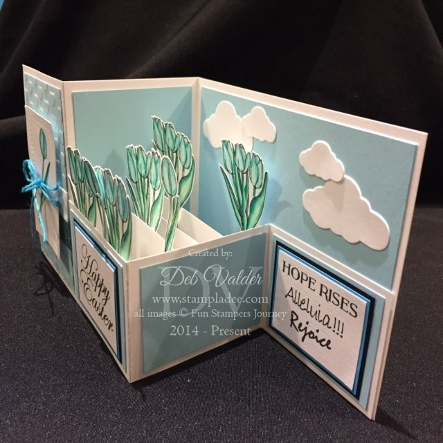 Z Fold Box Card with Deb Valder by djlab - Cards and Paper Crafts at Splitcoaststampers