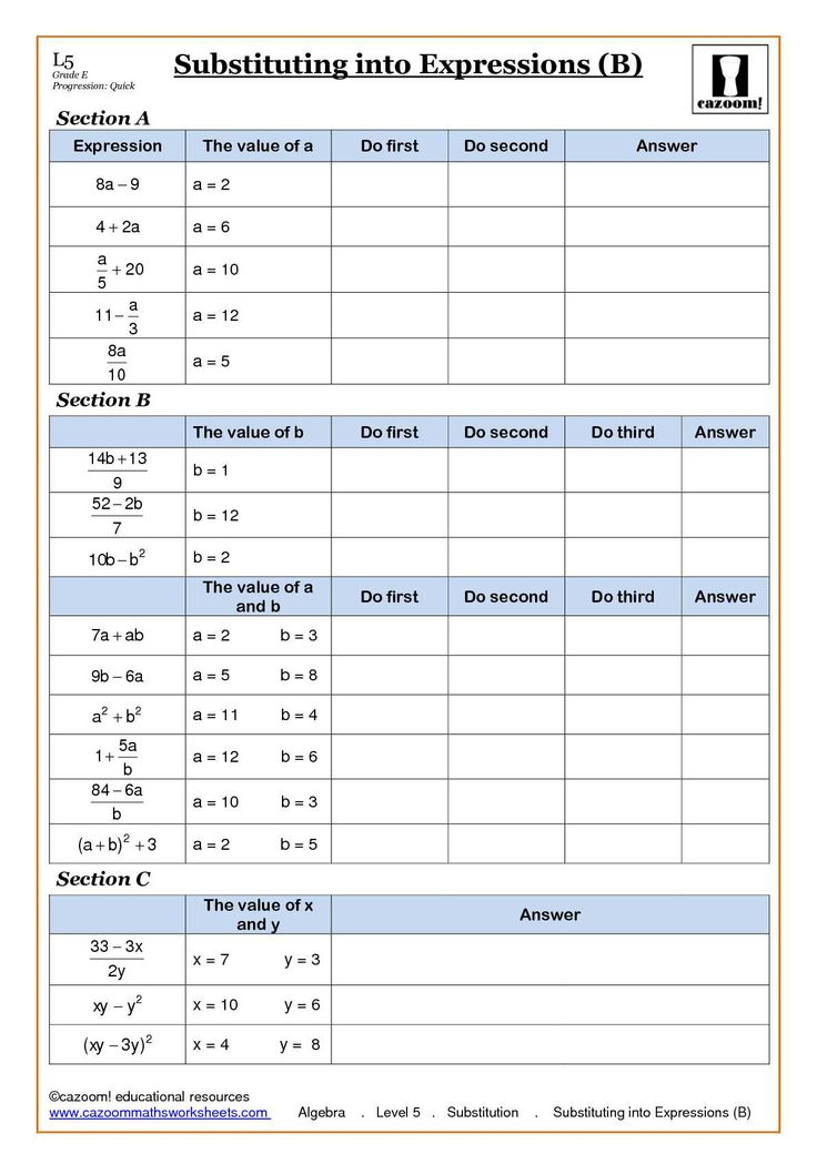 Printable Maths Worksheets Ks3 Sequences KS3 Maths Fill In The – Ks3 Maths Worksheet