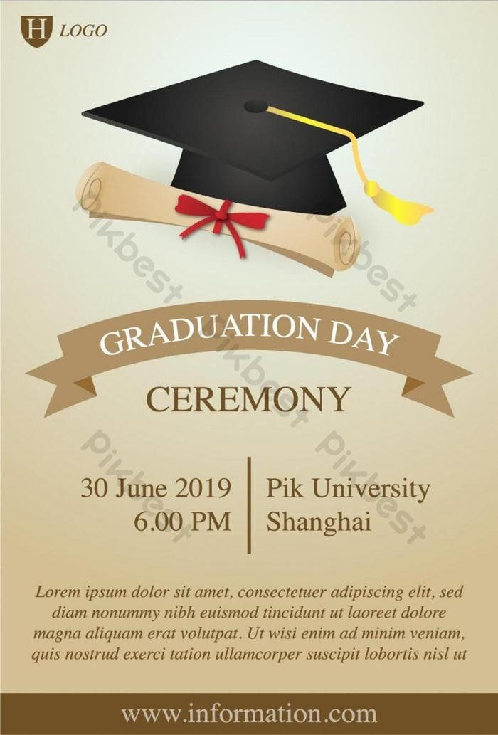 Invitation For Graduation Ceremony Lovely Graduation Cere Graduation Invitations Template Graduation Party Invitations Templates Graduation Invitations College
