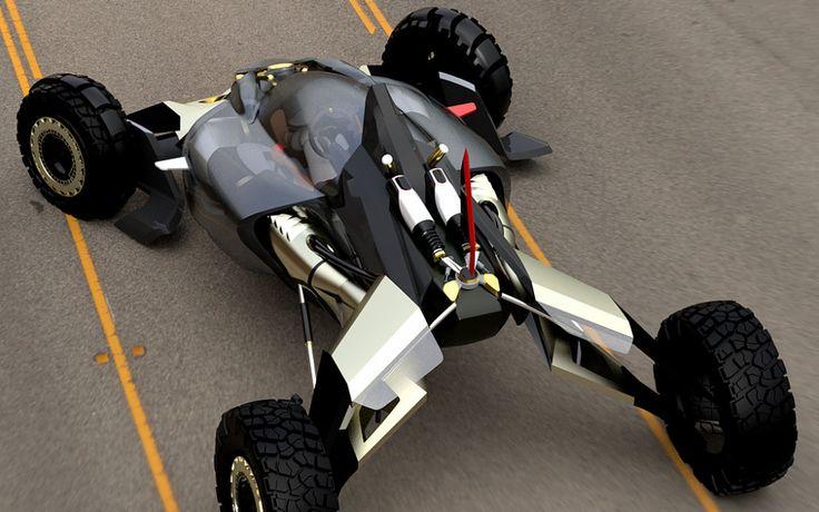 der honda offroad buggy ist f r extremes gel nde designt. Black Bedroom Furniture Sets. Home Design Ideas