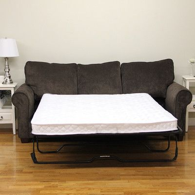classic brands 45 plush sofa bed mattress size twin - Best Sofa Bed Mattress