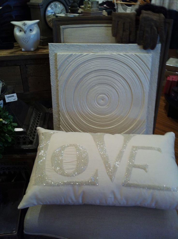modern swirl in stunning white