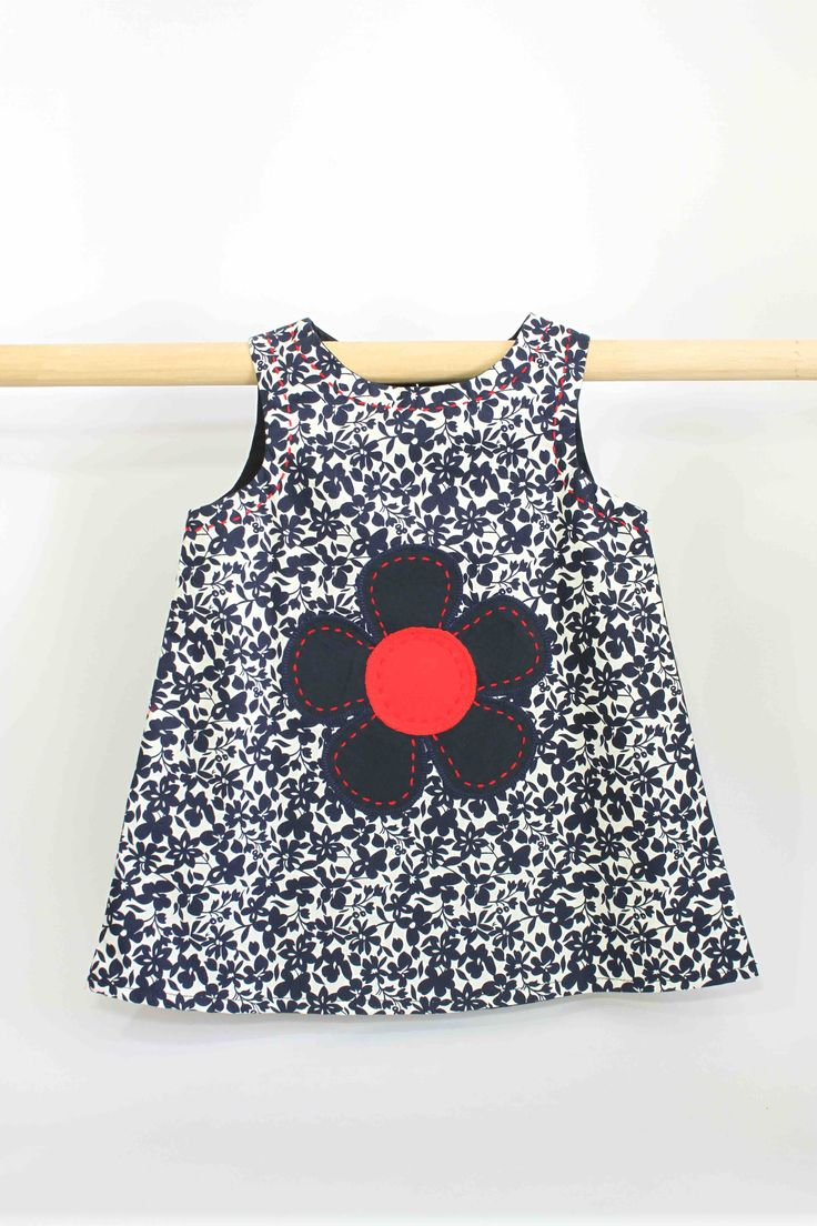 Floral Blue Flower Dress: This super cute summer dress not only looks great on kids but is also comfortable to wear and easy to clean, making it perfect for all occasions and still allowing a kid to be a kid.