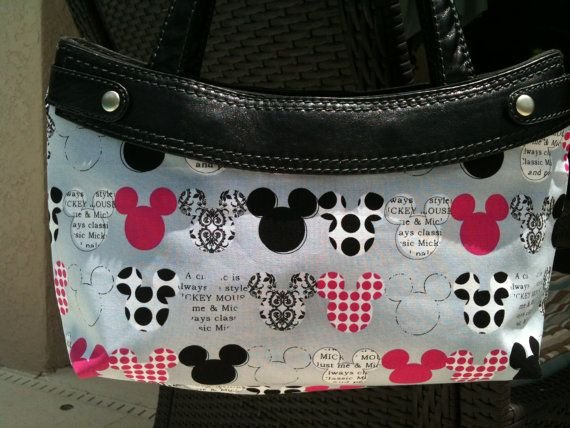 Mickey Mouse Multi  Thirty One Purse Skirt by ShellyJayneCovers, $12.00