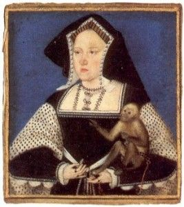 """On 7th January 1536, at two o'clock in the afternoon, Catherine of Aragon, first wife of King Henry VIII, died at Kimbolton Castle. You can read all about her death in my article """"The Death of Catherine of Aragon"""". Catherine of Aragon was laid to rest on the 29th January 1536 at Peterborough Abbey,"""