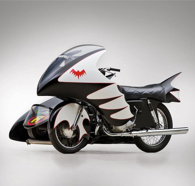 Fancy - 1966 Yamaha Batcycle