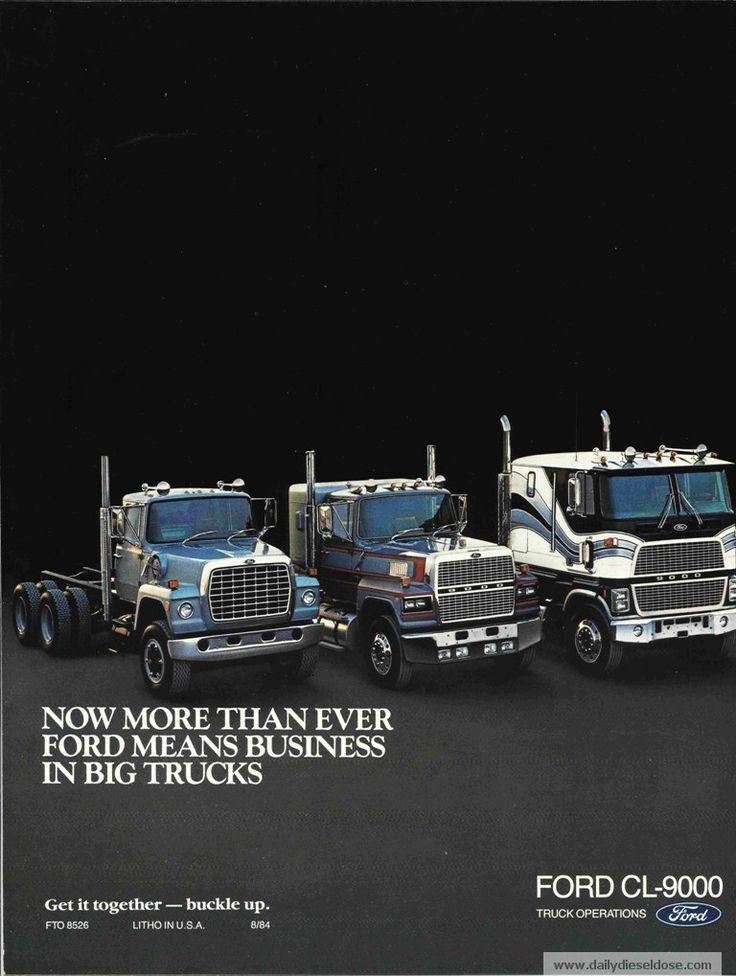 old ford trucks cl9000 | Vintage Words – Ford CL9000