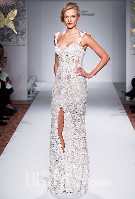Brides.com: Pnina Tornai for Kleinfeld - Fall 2015%0AWedding dress by Pnina Tornai for KleinfeldPhoto: John Aquino