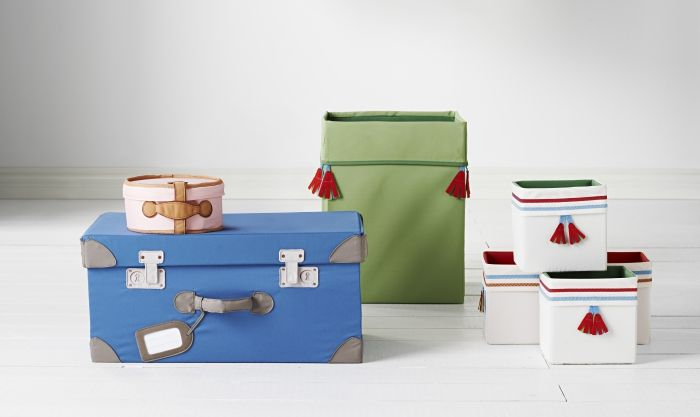 PYSSLINGAR opbergdozen | #IKEA #DagRommel #koffer #speelgoed #kinderen #opberger #doos