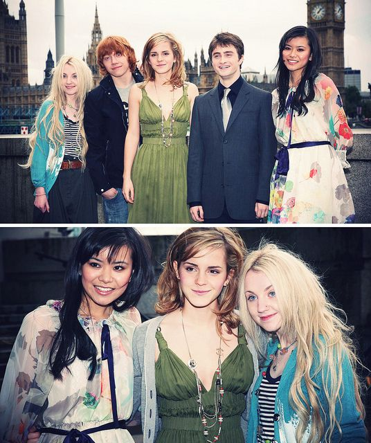 The Harry Potter cast when they were younger!